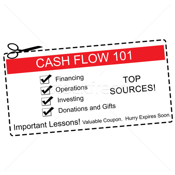 Cash Flow 101 Coupon Concept Stock photo © mybaitshop