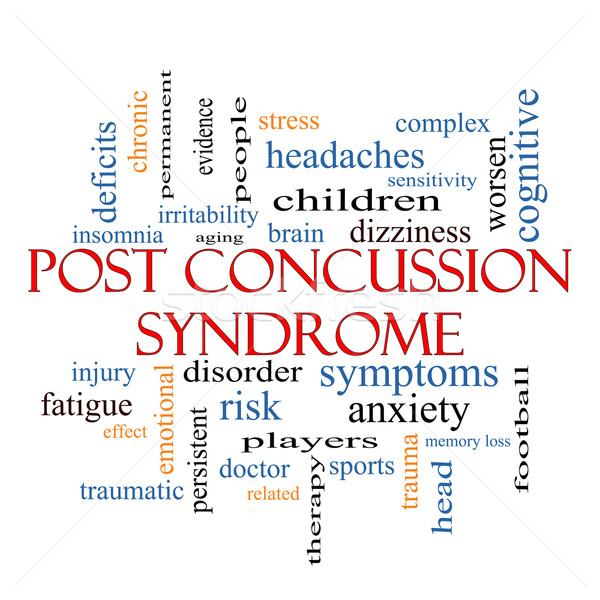 Post Concussion Syndrome Word Cloud Concept Stock photo © mybaitshop