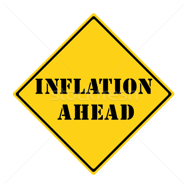 Inflation Ahead Sign Stock photo © mybaitshop