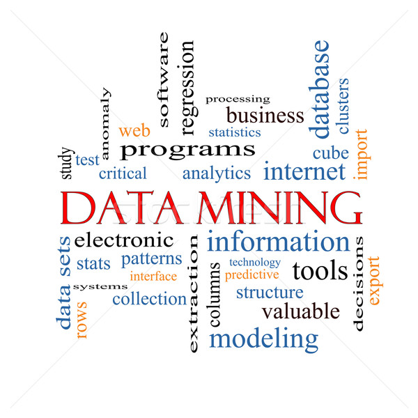 Data Mining Word Cloud Concept Stock photo © mybaitshop