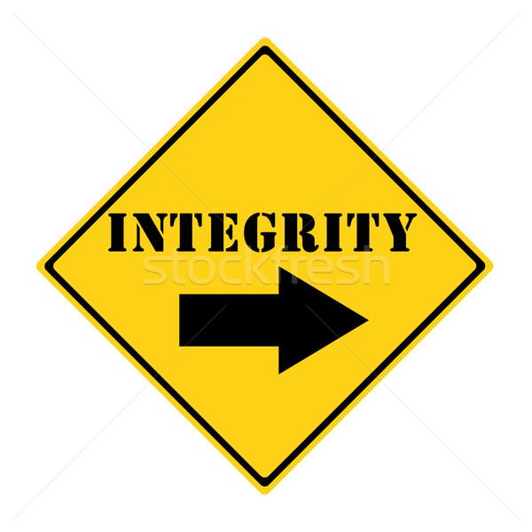 INTEGRITY Sign Stock photo © mybaitshop