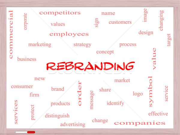 Kelime bulutu muhteşem pazar iş logo daha fazla Stok fotoğraf © mybaitshop