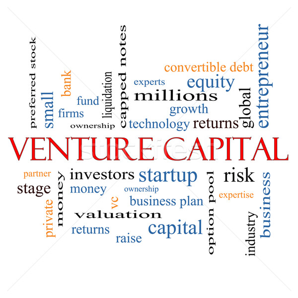 Venture Capital Word Cloud Concept Stock photo © mybaitshop