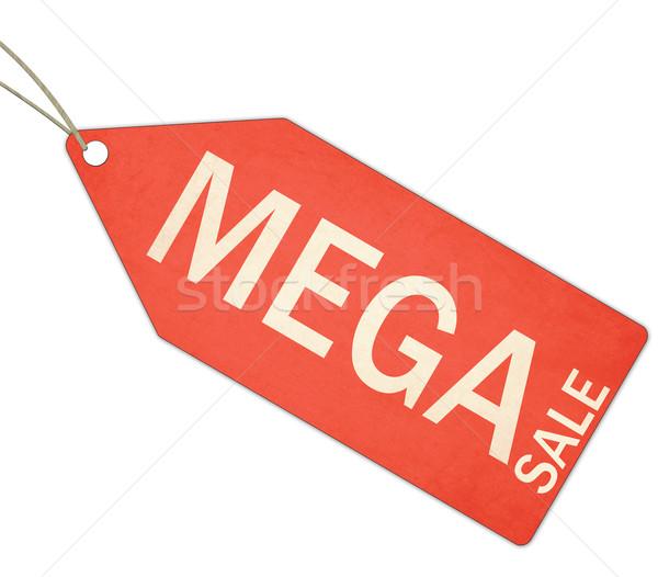 как продажи красный тег строку белый Сток-фото © mybaitshop