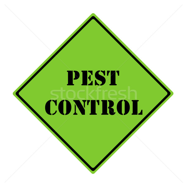 Pest Control Sign Stock photo © mybaitshop