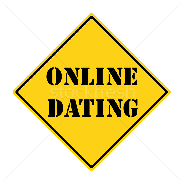 Online Dating Sign Stock photo © mybaitshop
