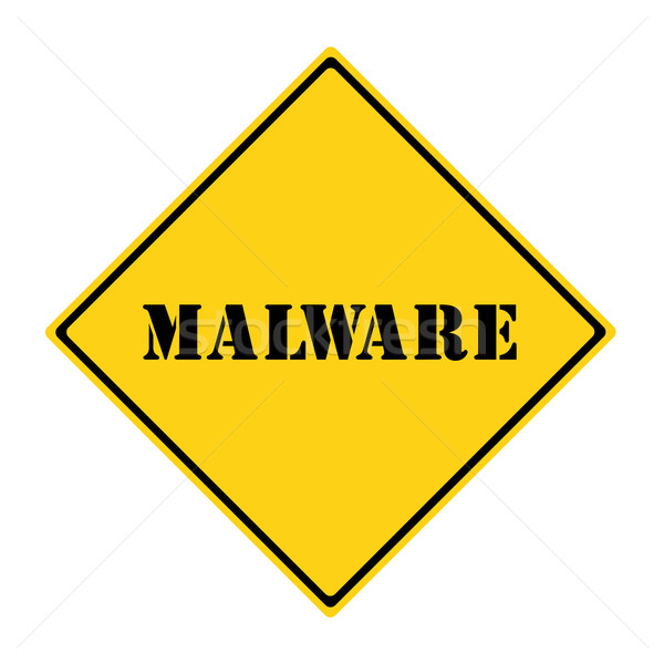 Malware Sign Stock photo © mybaitshop