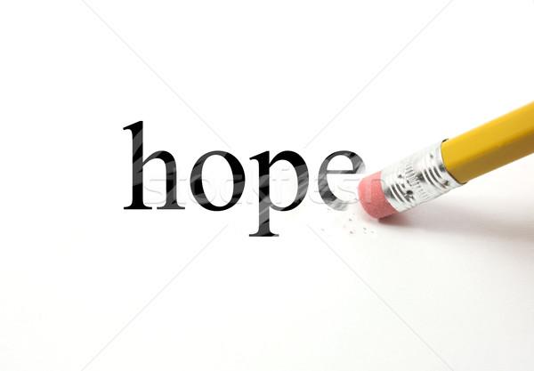Erasing Hope Stock photo © mybaitshop
