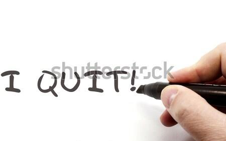 Secar conselho freqüentemente perguntas escrito preto Foto stock © mybaitshop