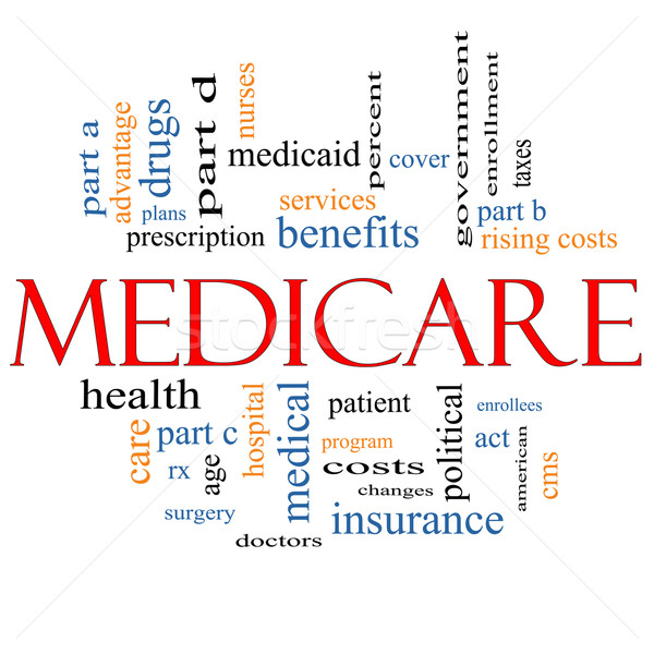 Medicare Word Cloud Concept Stock photo © mybaitshop