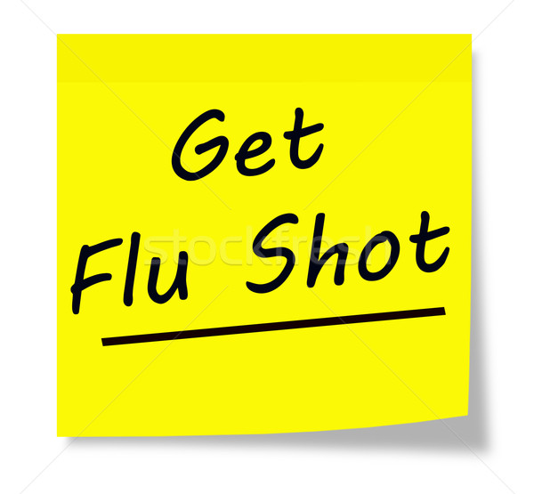 Get Flu Shot Stock photo © mybaitshop