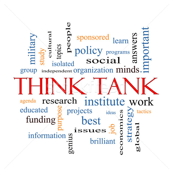 Think Tank Word Cloud Concept Stock photo © mybaitshop
