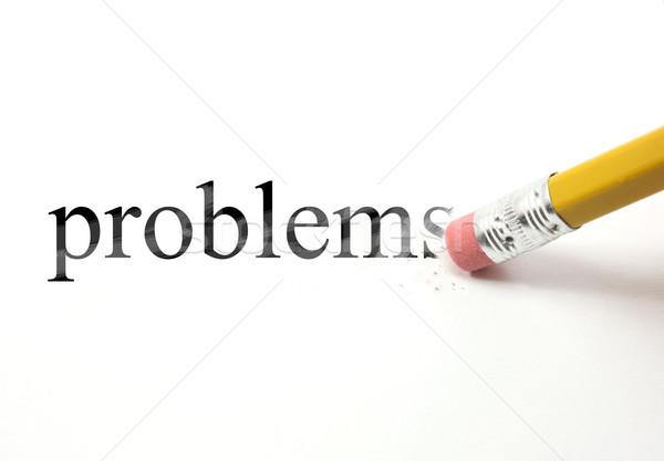 Erase your Problems Stock photo © mybaitshop