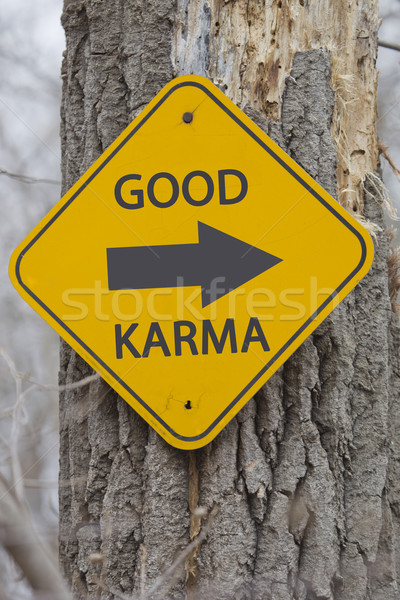 Good Karma this way Stock photo © mybaitshop