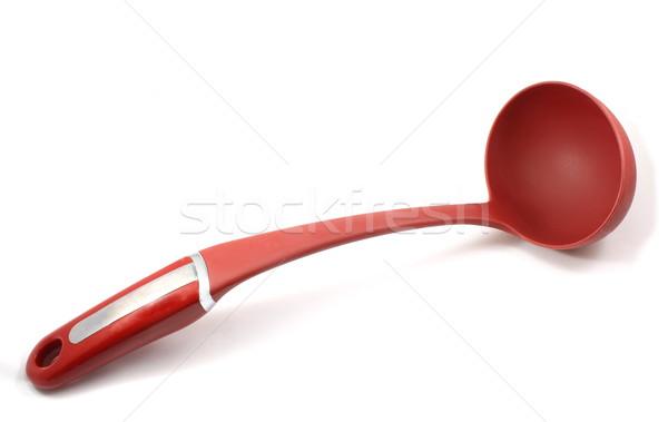 Czerwony zupa chochla żywności kuchnia gotowania Zdjęcia stock © mybaitshop