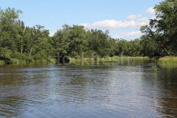 Wisconsin River Bend Stock photo © mybaitshop