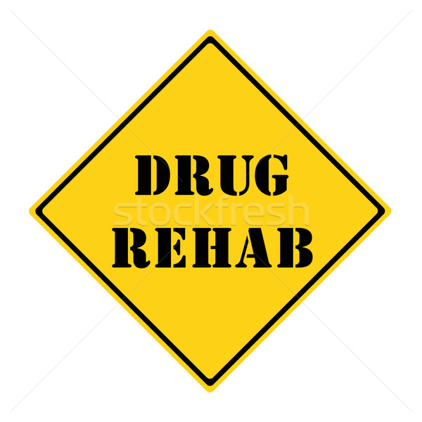 Drug Rehab Sign Stock photo © mybaitshop