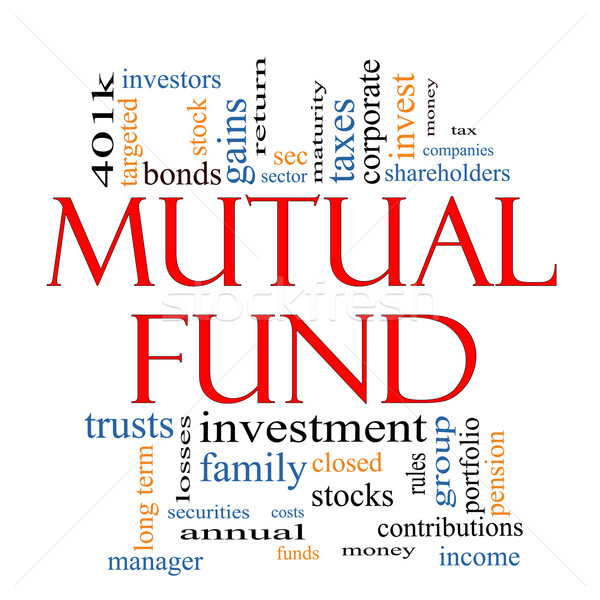 Mutual Fund Word Cloud Concept Stock photo © mybaitshop
