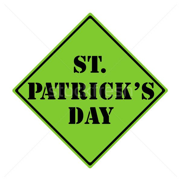 St. Patrick's Day Sign Stock photo © mybaitshop
