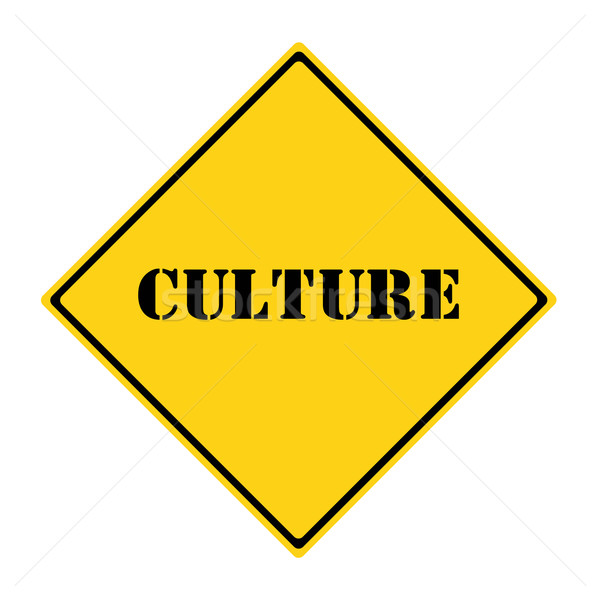 Culture Sign Stock photo © mybaitshop