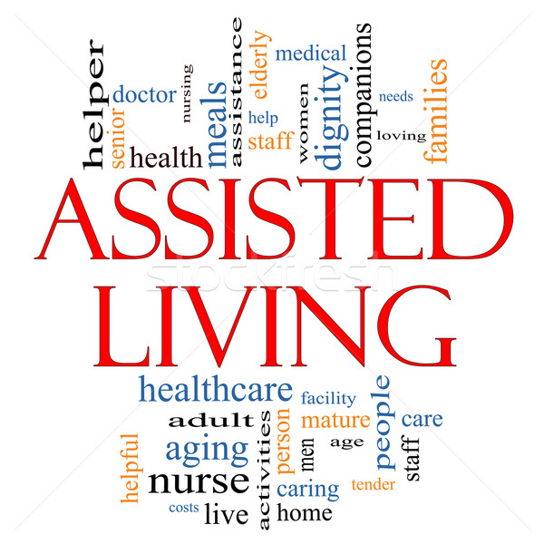 Assisted Living Concept Stock photo © mybaitshop