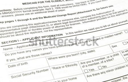 Cerere vot vot american candidat Imagine de stoc © mybaitshop