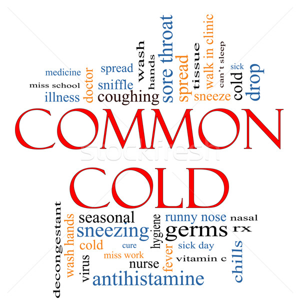 Common Cold Word Cloud Concept Stock photo © mybaitshop