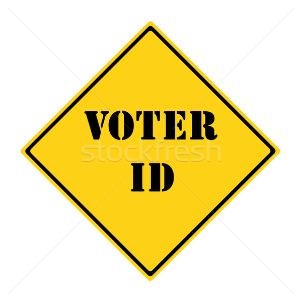 Voter ID Sign Stock photo © mybaitshop