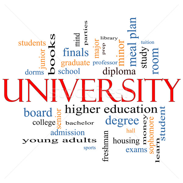 University Word Cloud Concept Stock photo © mybaitshop