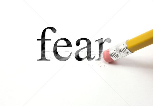 Erasing Fear Stock photo © mybaitshop