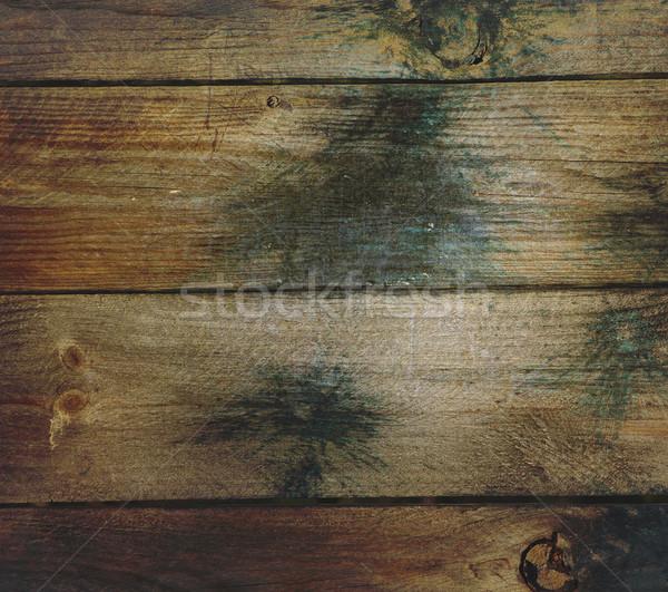 Grunge madera paintball textura Foto stock © mybaitshop