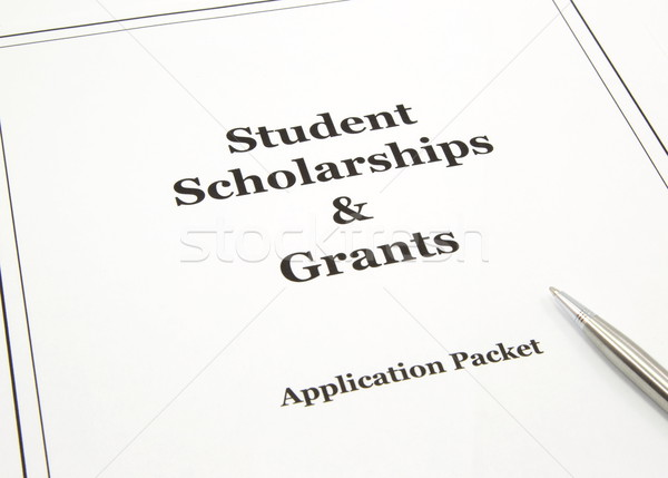 Scholarship and Grants Application Packet Stock photo © mybaitshop