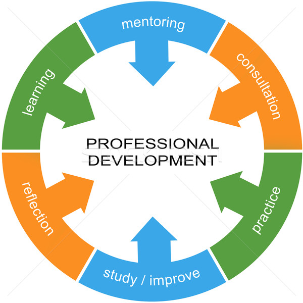 Professional Development Word Circle Concept Stock photo © mybaitshop