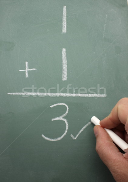 Math Correction Stock photo © mybaitshop