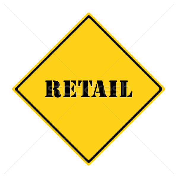 Retail Sign Stock photo © mybaitshop