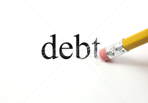 Erasing Debt Stock photo © mybaitshop