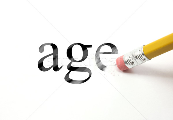 Erase your age Stock photo © mybaitshop