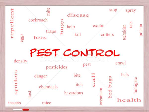Nuage de mots magnifique bugs poison Photo stock © mybaitshop