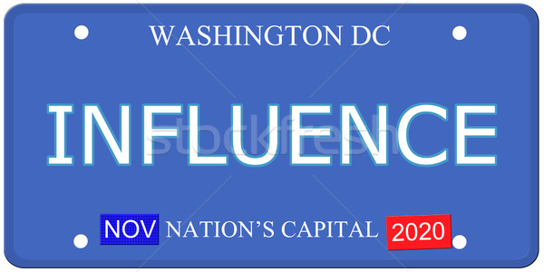 Washington DC influir placa imitación palabra Foto stock © mybaitshop