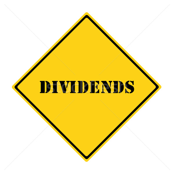 Dividends Sign Stock photo © mybaitshop