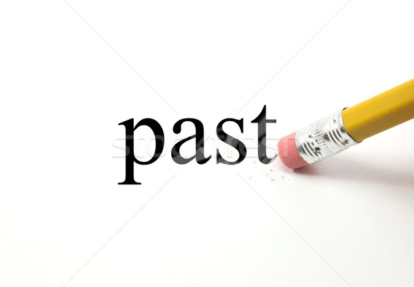Erasing the Past Stock photo © mybaitshop
