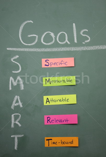 Colorful Smart Goals Stock photo © mybaitshop
