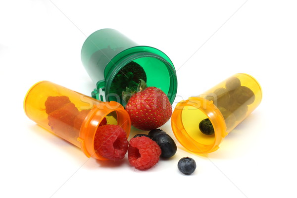 Berry Medicine Stock photo © mybaitshop
