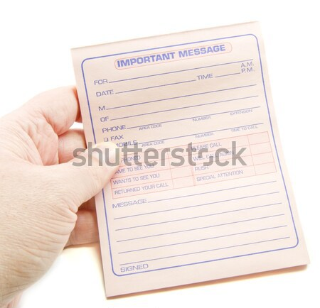 Important Message Get Flu Shot Stock photo © mybaitshop