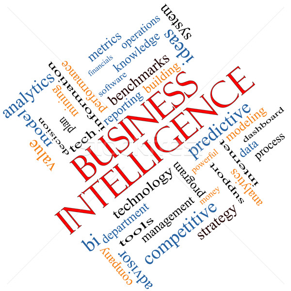 ビジネス インテリジェンス 言葉の雲 分析論 もっと ストックフォト © mybaitshop