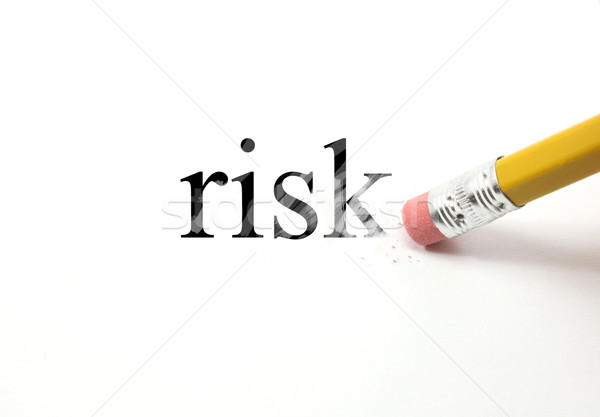 Erasing Risk Stock photo © mybaitshop