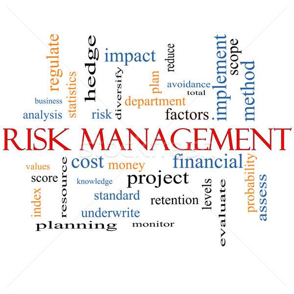 Risk Management Word Cloud Concept Stock photo © mybaitshop