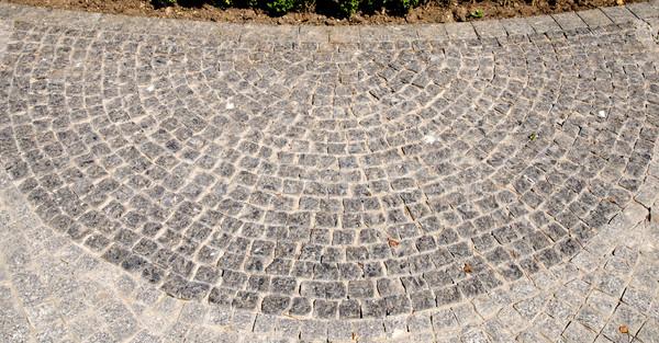 Concrete marciapiede texture costruzione muro abstract Foto d'archivio © mycola