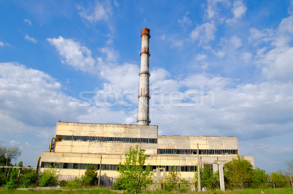 old factory Stock photo © mycola