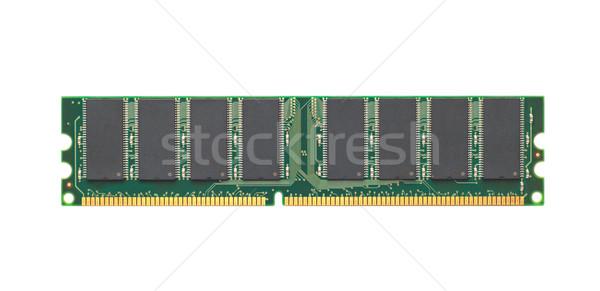 Bilgisayar bellek modül yalıtılmış beyaz teknoloji Stok fotoğraf © mycola